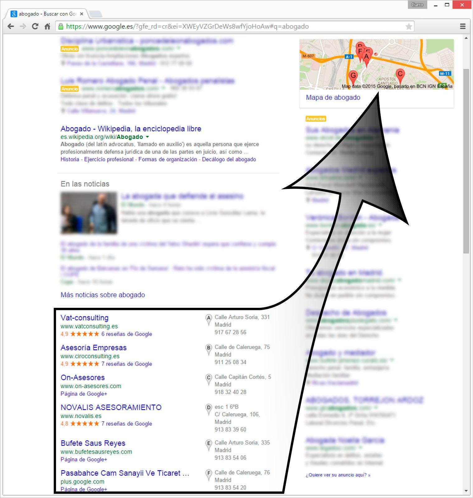 Google My Business o cómo destacar y que te encuentren en internet 2
