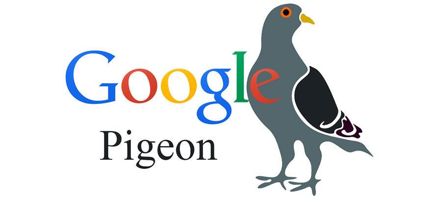 El algoritmo Pigeon de Google en España este 2015